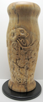 Carved Turnings - Fairy Vase