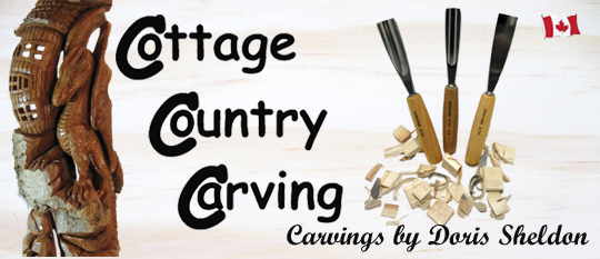 Cottage Country Carving: Carvings by Doris Sheldon