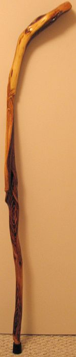 Diamond Willow Wheat Staff - 135 cm  (53 inches)